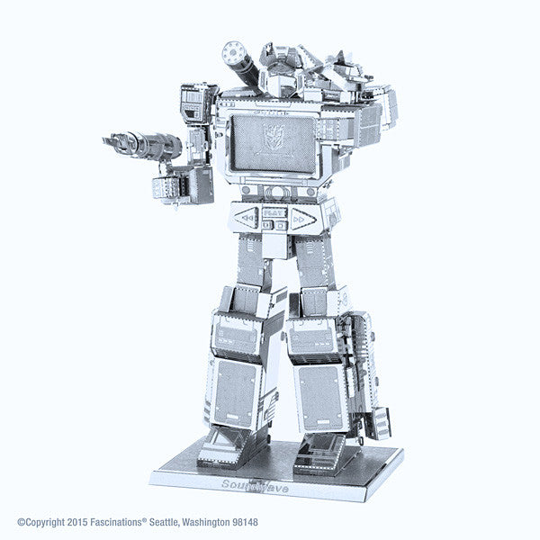 Transformers Soundwave 3-D Metal Earth Model