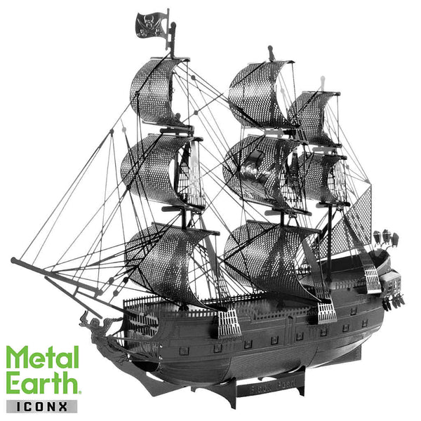 Black Pearl (Black Version) ICONX 3-D Metal Model