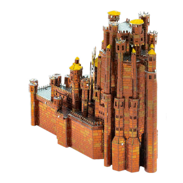 Game of Thrones Red Keep Castle ICONX 3-D Metal Model
