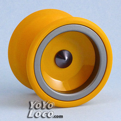 One Drop Rally YoYo, Mango with Pewter Rings