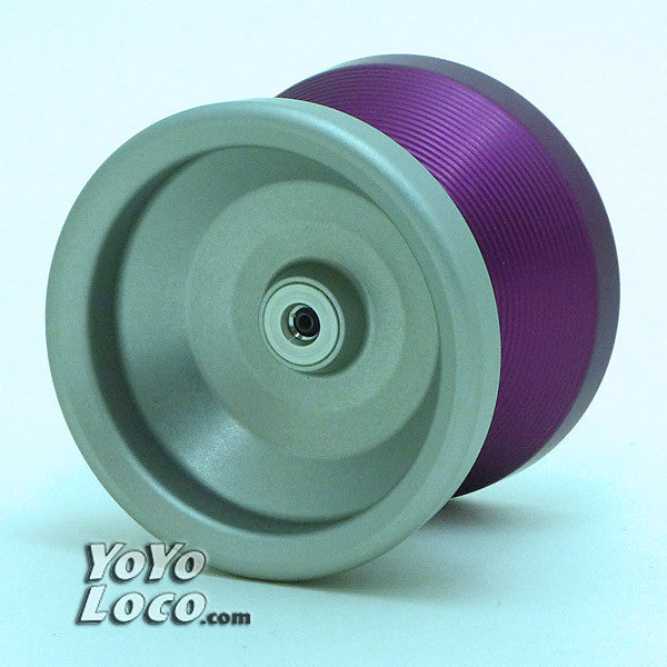 OneDrop Rebirth Yo-Yo, Split Purple - Clear
