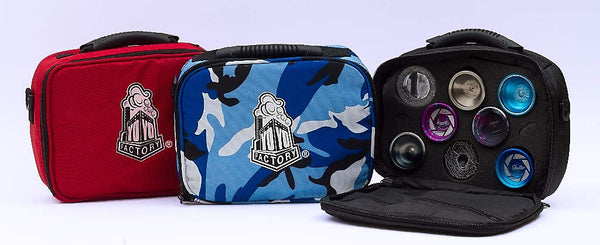 Soft YoYo Case by YoYoFactory, Red / Blue Camo / Black