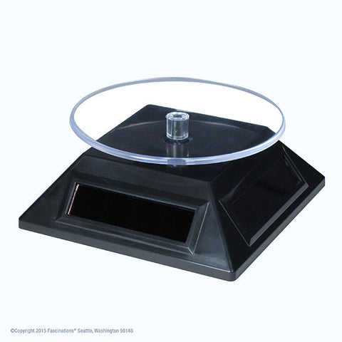 Solar Spinner Rotating Display Base
