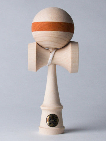 Sweets Homegrown Kendama, Maple with Padauk Stripe