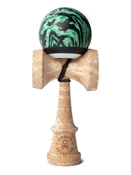 Sweets Lab, Custom Kendama V25 Camo - Mint Tigerstripe