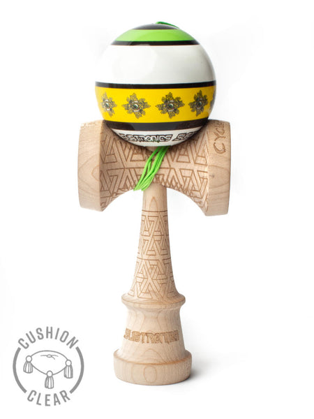 Subtronics Signature Series Kendama, Cushion Clear