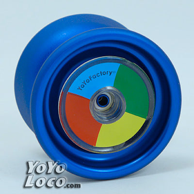 Catalyst YoYo, Stacked, Blue color, by YoYoFactory