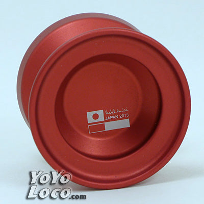 CZM8 (Checkmate) Yoyo, Red Japan Tour Edition