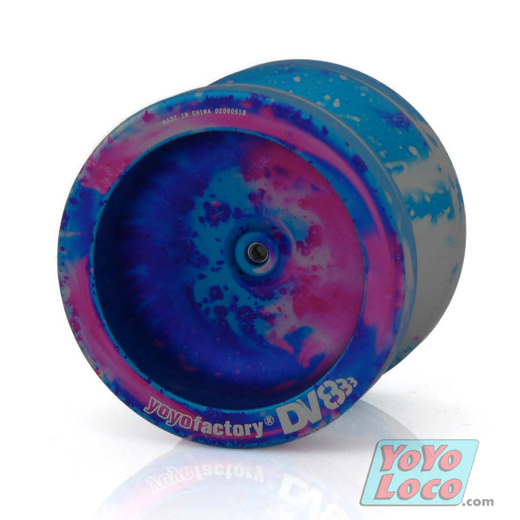 YoYoFactory DV888 YoYo, Galaxy Acid Wash