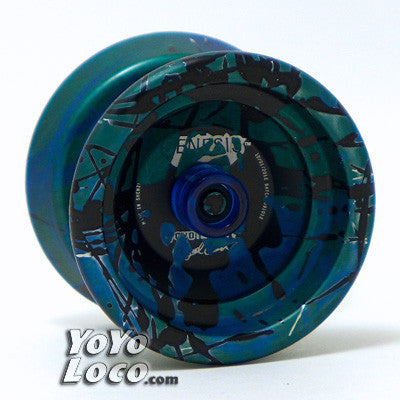 YoYoFactory Genesis+ YoYo, with Hubstacks