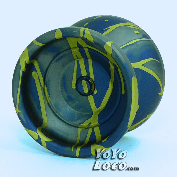 YoYofficer Urban YoYo, Blue / Yellow Splash
