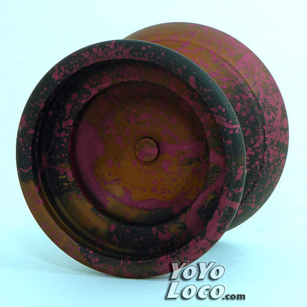 YoYofficer Vector YoYo Orange / Black / Pink Splash