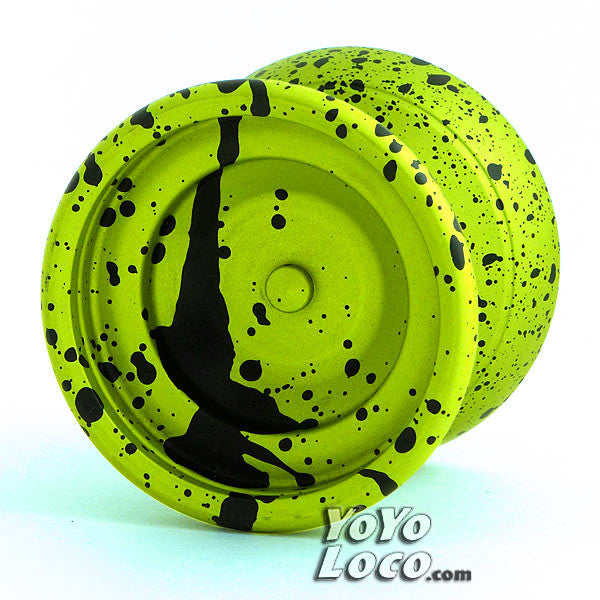 YoYofficer Vector YoYo Yellow / Black Splash
