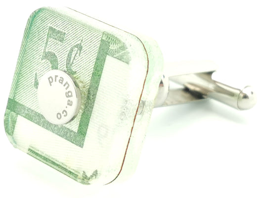 Canadian Tire Money 5 Cent Cufflink Ankers - pranga