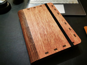 Interchangeable Wood Notebook Cover - pranga