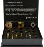 Curated Natural Selection Cufflinks and Ankers - pranga