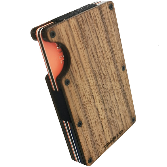 The Wallet, Refined with Wood - pranga