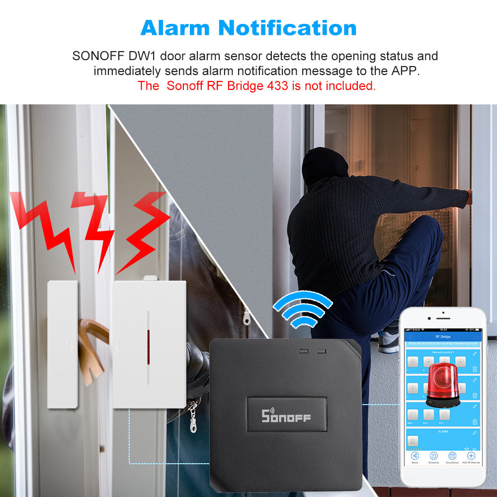 Smart Home Security Alarm System