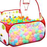 90cm Foldable Kids Children Ocean Ball Pit Pool Ball Play Toys Tent Pop up Hexagon Polka Dot Children Ball Play Pool Tent