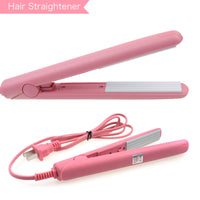 Mini Curling Iron Straightener For Hair