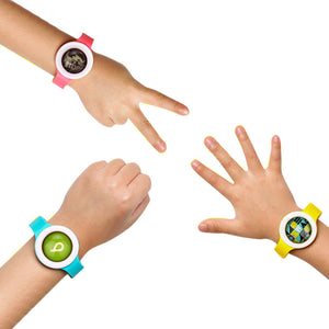 Anti Mosquito Pest Insect Repellent Repeller Wrist Band Kids Bracelet Wristband For Outdoor Travel Hiking Tools #EW