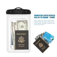 Waterproof Pouch Mobile Phone Storage Box Bags Full Touch Underwater Dry Case Cover For Phone Money Card
