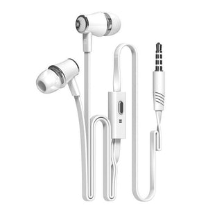 FORNORM Stereo In-Ear Earphone With Microphone 3.5mm Handfree Wired Earbud Earphones For iPone 6/6s xiaomi Computer