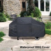 Universal Outdoor Waterproof BBQ Cover Garden Gas Charcoal Electric Barbeque Grill Protective Cover ( 145*61*117cm )