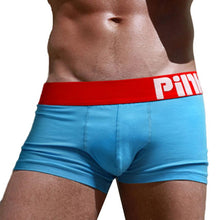 PINK HEROES Boxer Mens 2017 Underpants Knickers Sexy Shorts Underwear Breathable Men Cotton Pants