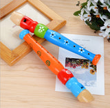 Wooden Trumpet Hooter Bugle Educational Toy Gift For Kids