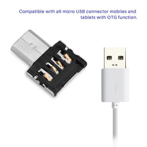 Computer Adapter Micro USB Male to USB Female OTG Adapter Converter For Android Tablet Phone Gifts