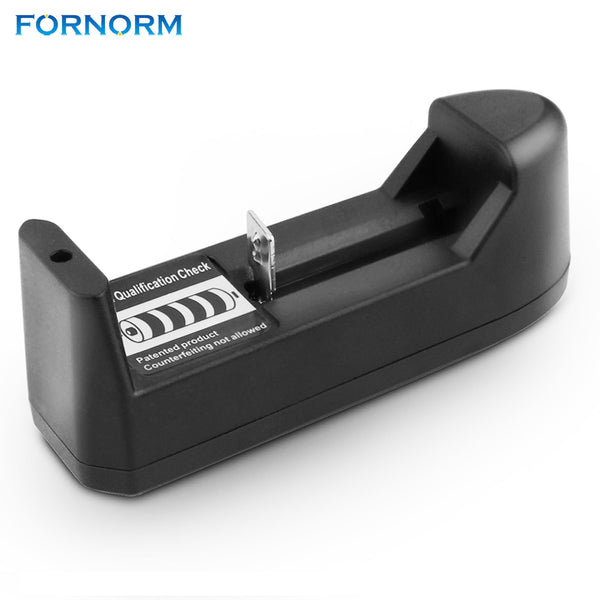 FORNORM US/EU Plug 18650 battery Charging For 26650 18650 14500 16340 Auto Off Battery Charger 3.7V Li-ion Battery Charger