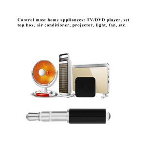 FORNORM Universal 3.5mm Mini Intelligent Remote Control Plug Mobile Phone Smart Infrared IR Remote Control Jack For IOS Android