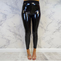 Faux Leather Leggings For Women