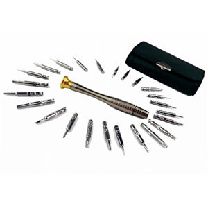 25 In 1 Multifunctional Screwdrivers Repair Tool Kit Set for Eyeglasses, Laptop, Smartphone, Watch, Tablet