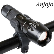 LED Tactical Portable Flashlight
