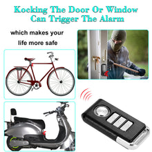 Bicycle/ Electric Tricycle/ Door/ Window Vibration Alarm Intelligent Anti-theft  Alarm Wireless Remote Control Alarm Supper Loud  Waterproof Adjustable Sensitivity