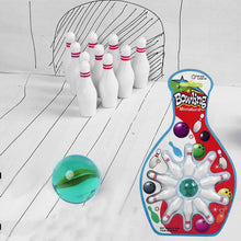 Mini Desk Top Bowling Game Set Kids Children Novelty Toy -10 Bowling 1 Marble Pinball Bowling Desk Game Entertainment