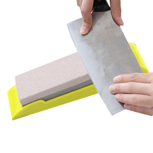 320/240 Double-Side Diamond Whetstone Knife Sharpener Diamond Sharpening Stone Grindstone Grinding Tool for Kitchen