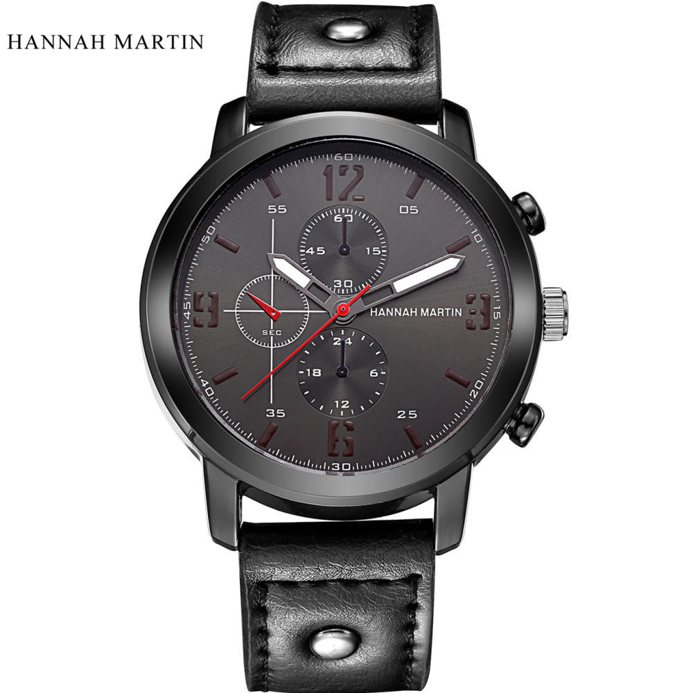 Martin Mens Watches Luxury Fashion Waterproof Watches