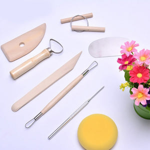 8 Pcs/Set Pottery Modelling Tool Set