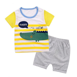 Baby T-shirt, Pants Set
