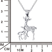 925 sterling silver necklace/Women