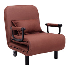 Convertible Sofa Bed Folding Arm Chair