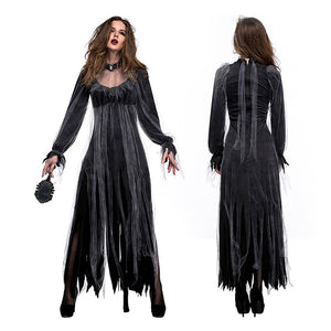 Cemetery Ghost Bride Zombie Costume