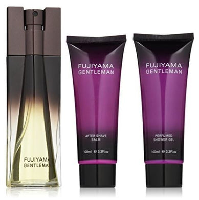 FUJIYAMA GENTLEMAN 3 PC Men Gift Set Cologne