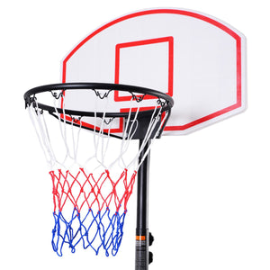 Adjustable Basketball Hoop System Stand with Wheels