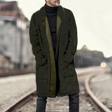 Cardigan Men's Coat