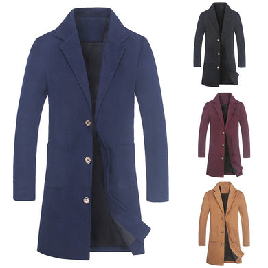 Men's Solid Coat