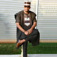 Dashiki 3 piece Men Set